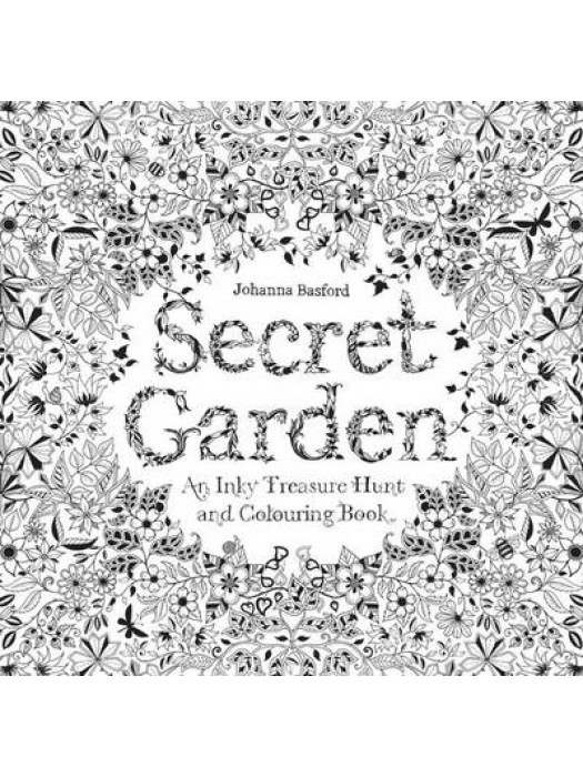 Buy Secret Garden Colouring Book